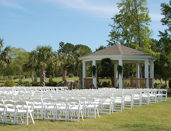 Sea Trail Resort Weddings Gazeebo